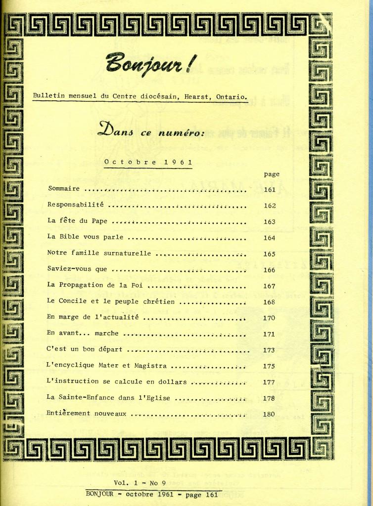 Un bulletin diocésain