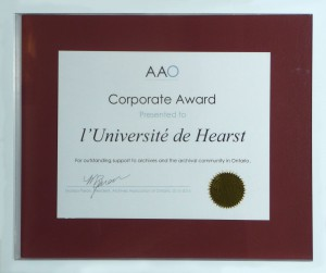 L'Université de Hearst honorée
